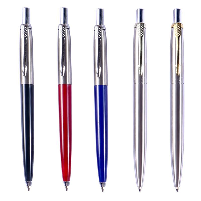 Metal Press Ballpoint Pen 500PCS PER Set Advertising Pen Promotional Advertising Press Ball Pen Custom Brand