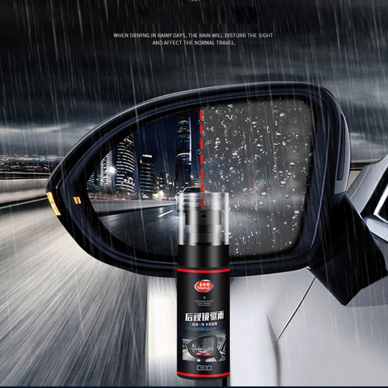 60ml Automotive Rearview Mirror Rainproof Agent Windshield Coating Spray Agent for Vehicle Body Care