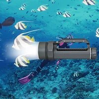 underwater diving flashlight dive light waterproof torch 6x xm l2 led white lighting 32650 battery euus charger