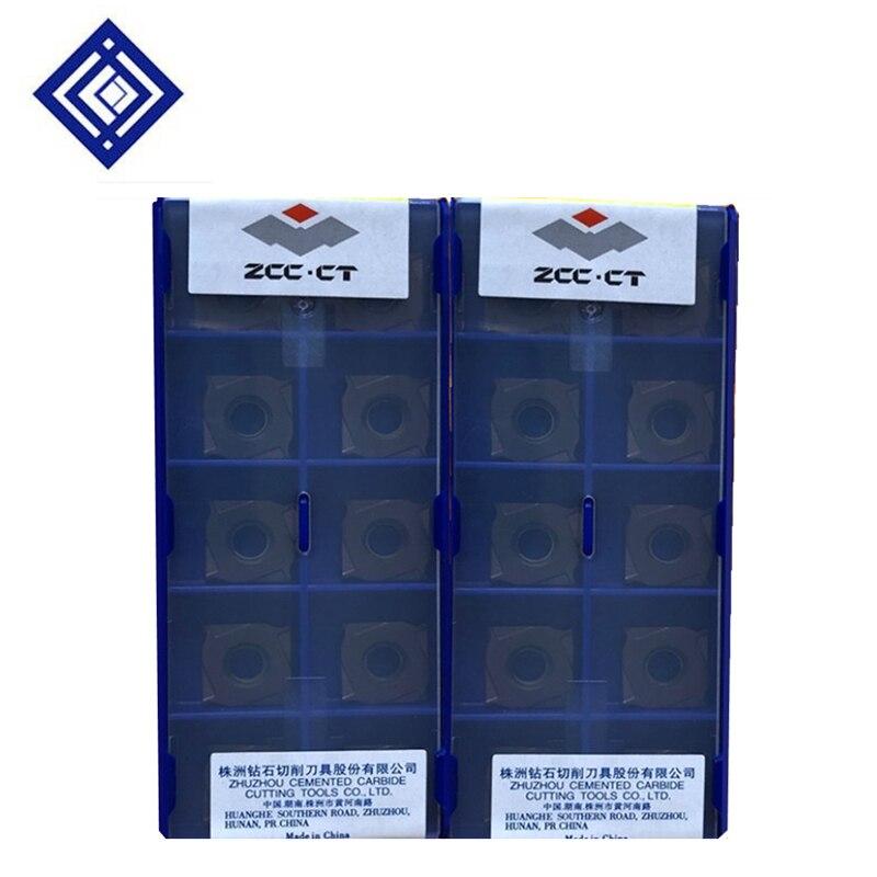 10pcs/box YBG302 XSEQ1202 XSEQ1203 XSEQ12T3 XSEQ1204 XSEQ12T4 CNC Carbide Milling Inserts Face And Side Cutter SMP01