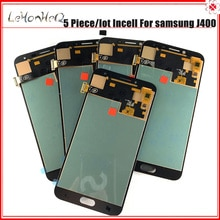 Incell 5 Stück Lot LCD j4 Bildschirm Für samsung Galaxy J4 2018 J400 Dispaly J400F/DS J400G/DS LCD Touch Screen Digitizer Montage