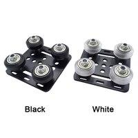 2020 v slot aluminum profile pulley 3d printer accessory profile roller