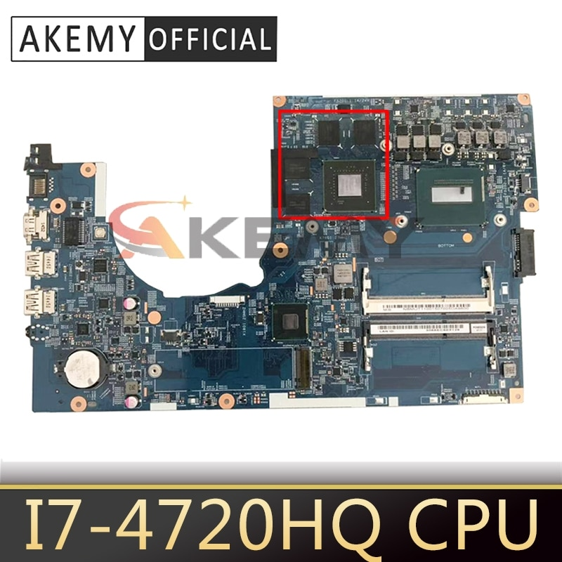 Para ACER 14203-1M placa madre para ACER Aspire VN7-791 VN7-791G I7-4720HQ CPU...