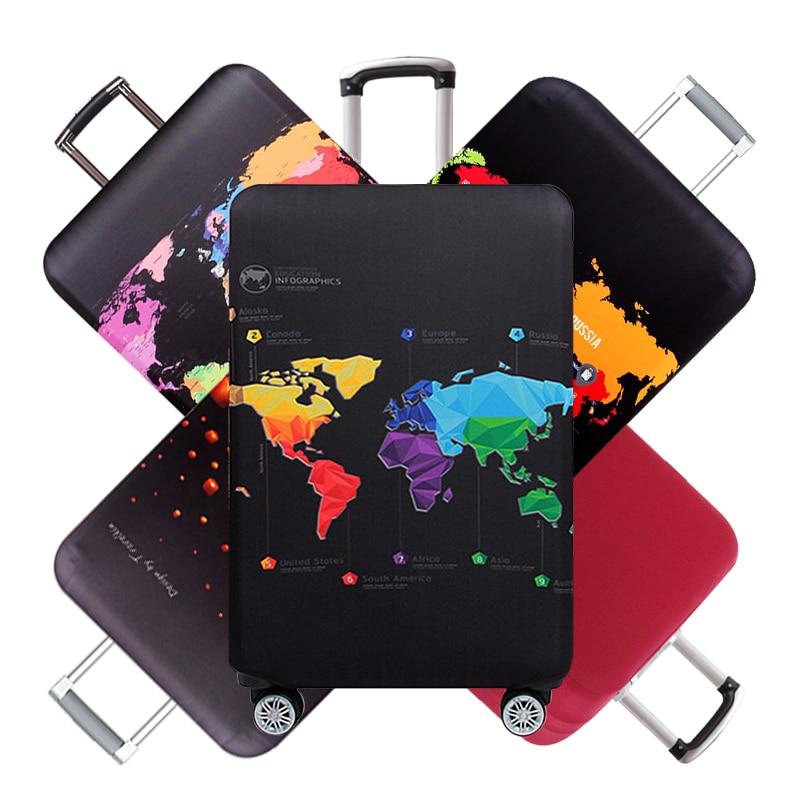 Cubierta protectora de equipaje con remaches de viaje, Maleta elástica para hombre, maleta con ruedas, bolsas de lluvia para polvo, accesorios, suministros, producto