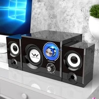 new tv speaker computer bluetooth speakers stereo desktop mobile phone home party high power adjustable subwoofer speaker