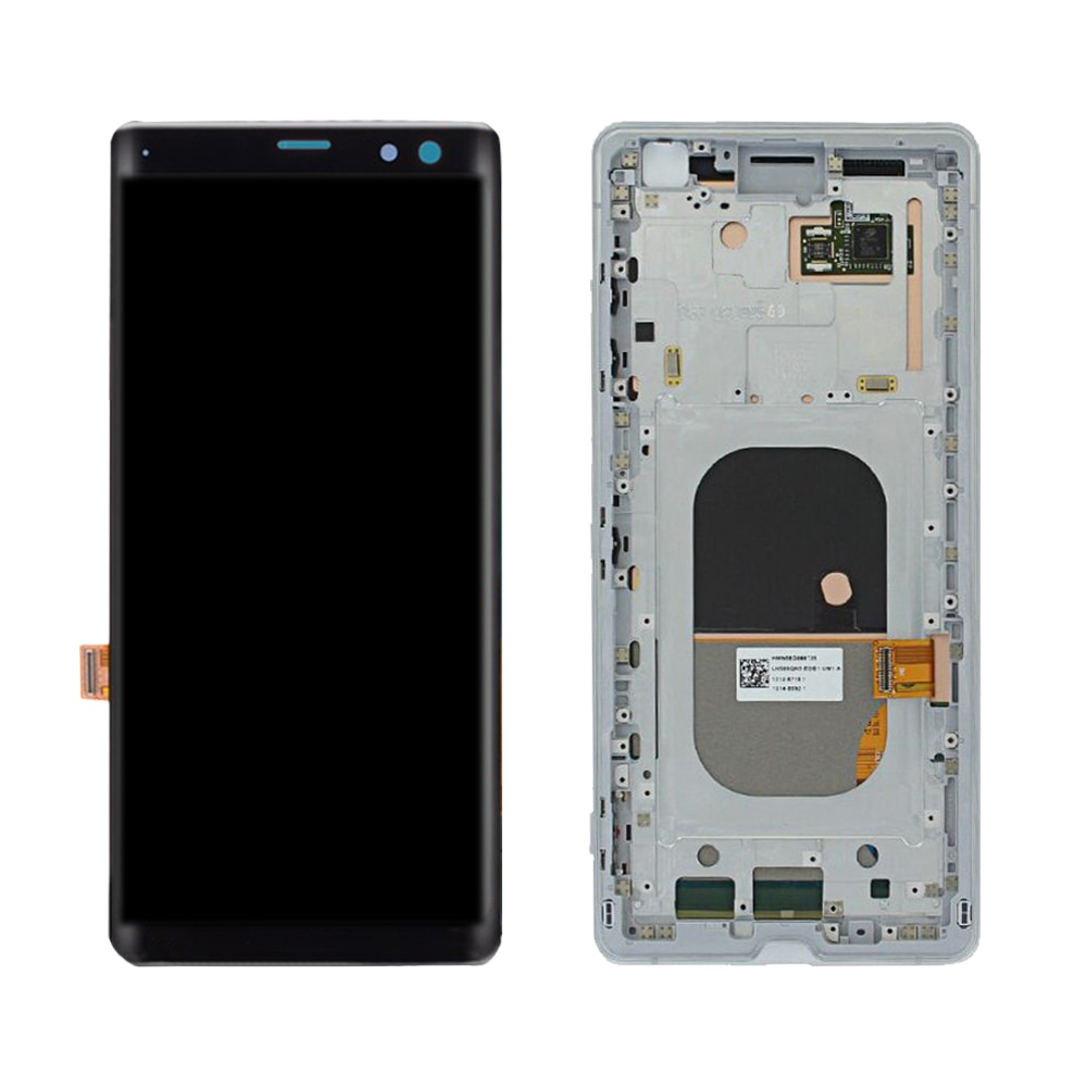 """6""""ORIGINAL For SONY Xperia XZ3 LCD Touch Screen Digitizer Assembly For Sony XZ3 Display with Frame Replacement H9436 H9493 H8416 enlarge"""