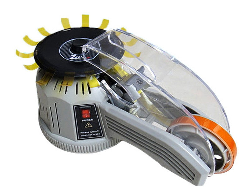 "110V/220V Width 0.1""-1"" Electric Tape Dispenser Machine Adhesive Tape Cutter ZCUT-2"