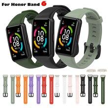 Cinturino di ricambio per cinturino intelligente in Silicone Huawei Band 6 per cinturino Honor Band 6 cinturino Correa