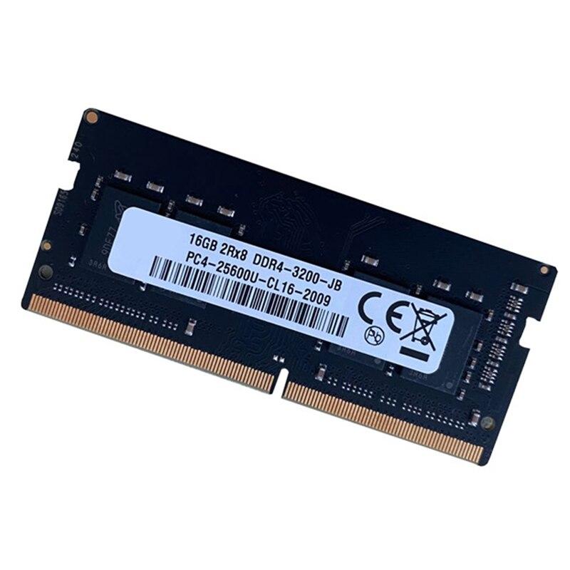 DDR4 16GB محمول ذاكرة عشوائية 284 دبوس SODIMM دعم ثنائي القناة لذاكرة الكمبيوتر المحمول AMD