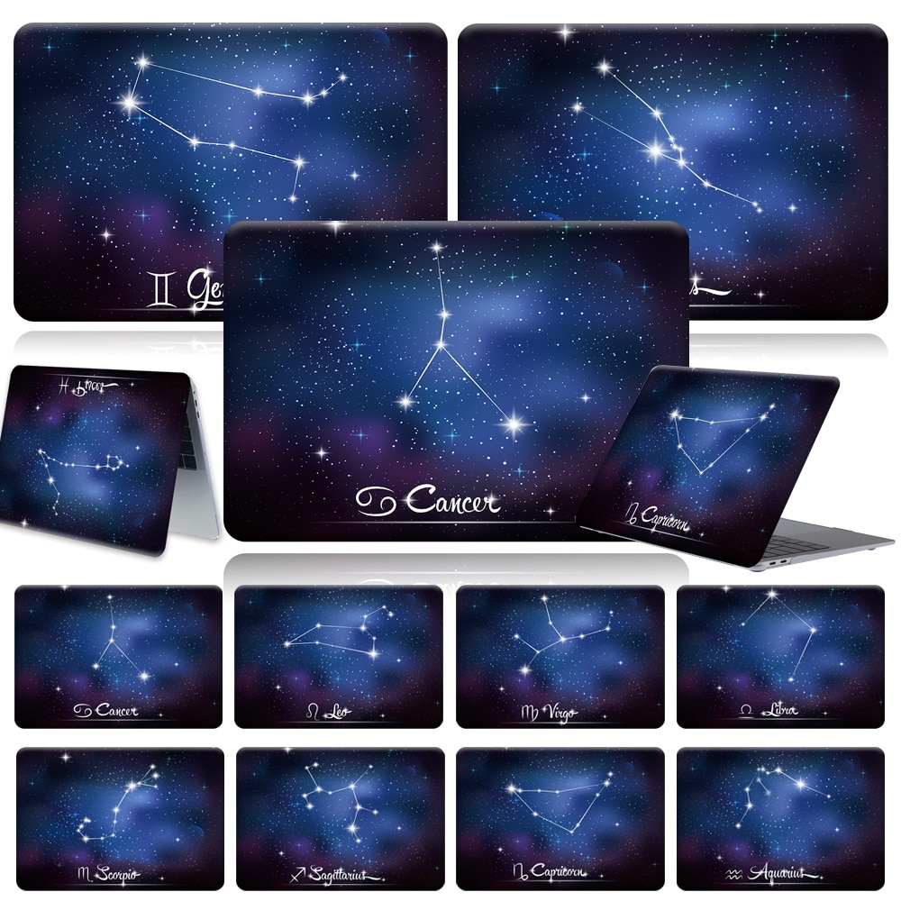 For Apple Macbook Pro 13 A2289 A2251 2020 Constellation Anti-fall Touch Cover for Air 13 A2337 Pro 16 12 15 11 A1708 A1990 Case