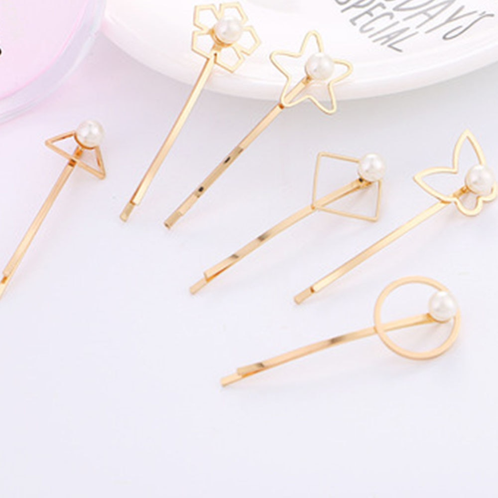 Fashion Korean Style Pearl Hair Clip For Women Romantic Female Hairpin Jewelry Beauty Tools Gift 2021 Hair Barrettes Wholesale