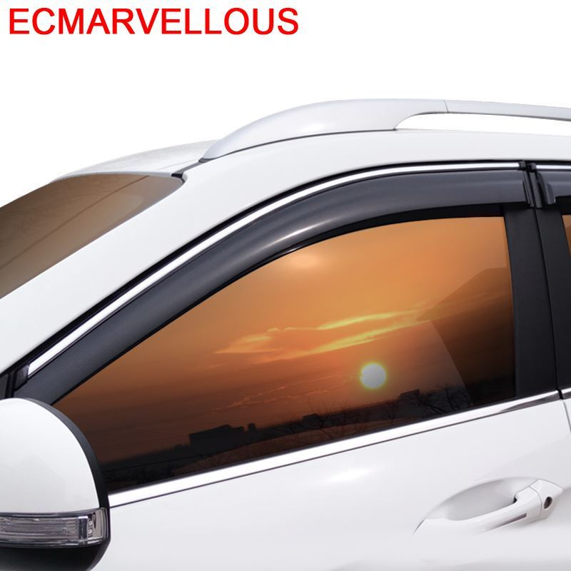 Protetor de automóvel modificado carro anti chuva exterior peças automóveis molduras estilo windows viseira para cadillac ATS-L srx xt5 xts