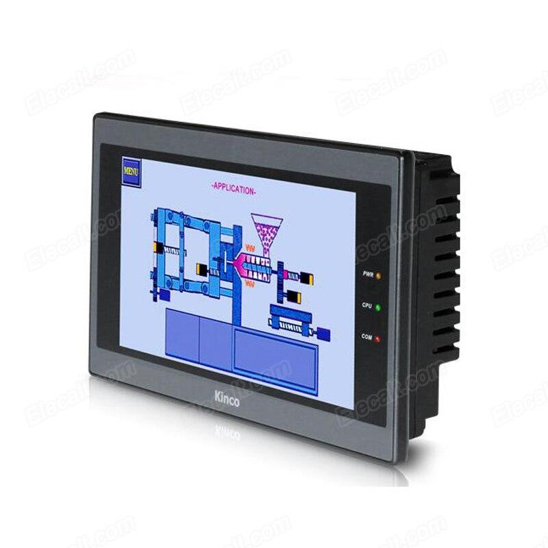 Mt4404t kinco hmi tela de toque 7 polegada 800*480 1 usb host nova interface da máquina humana