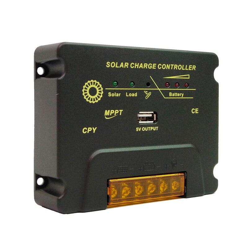 ¡Caliente! Controlador de Panel Solar 10A 20A, 12V 24V, Mando de cargador Solar para sistema PV, regulador Solar CPY-2410/2420/ CMG-2410/2420