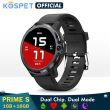 Smartwatch 2021 KOSPET PRIME S 1GB 16GB Smart Watch Men Dual Mode Camera Bluetooth GPS 4G Android Smart Watch IP67 Waterproof