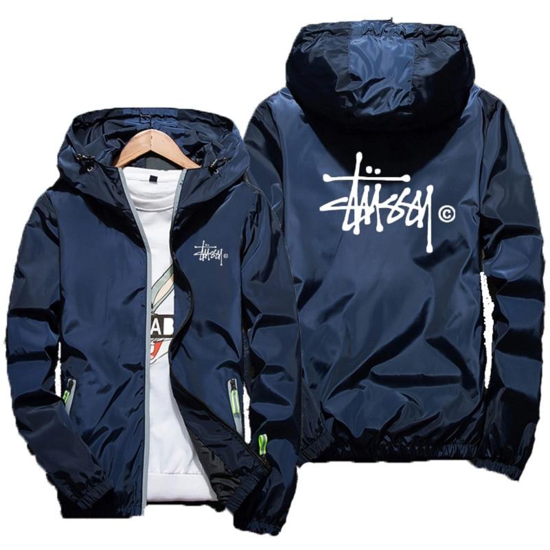 Модная весенняя куртка, Спортивная тонкая куртка на молнии, мужская куртка-бомбер, женская уличная одежда, форма, повседневная куртка, весен...