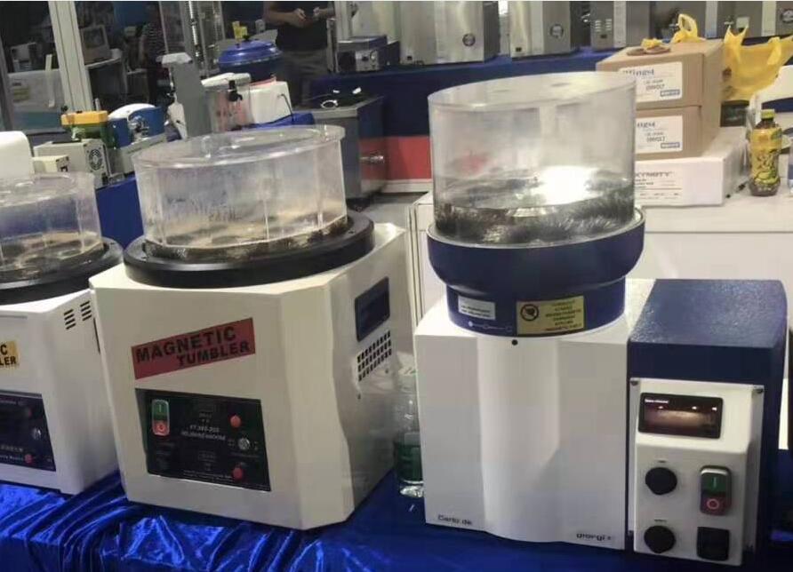 220V Jewelry Polishing Machine ring finishing machine precision centrifugal disc finishing machine for dry and wet polishing