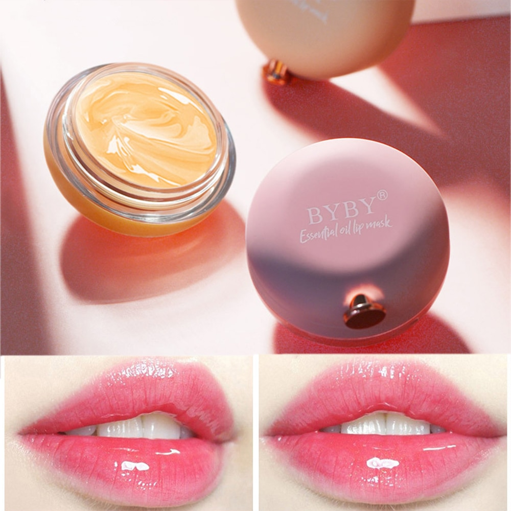 Plant Extract Repair Propolis Rose Essential Oil Lip Sleeping Mask Night Nourishing Moisturizing