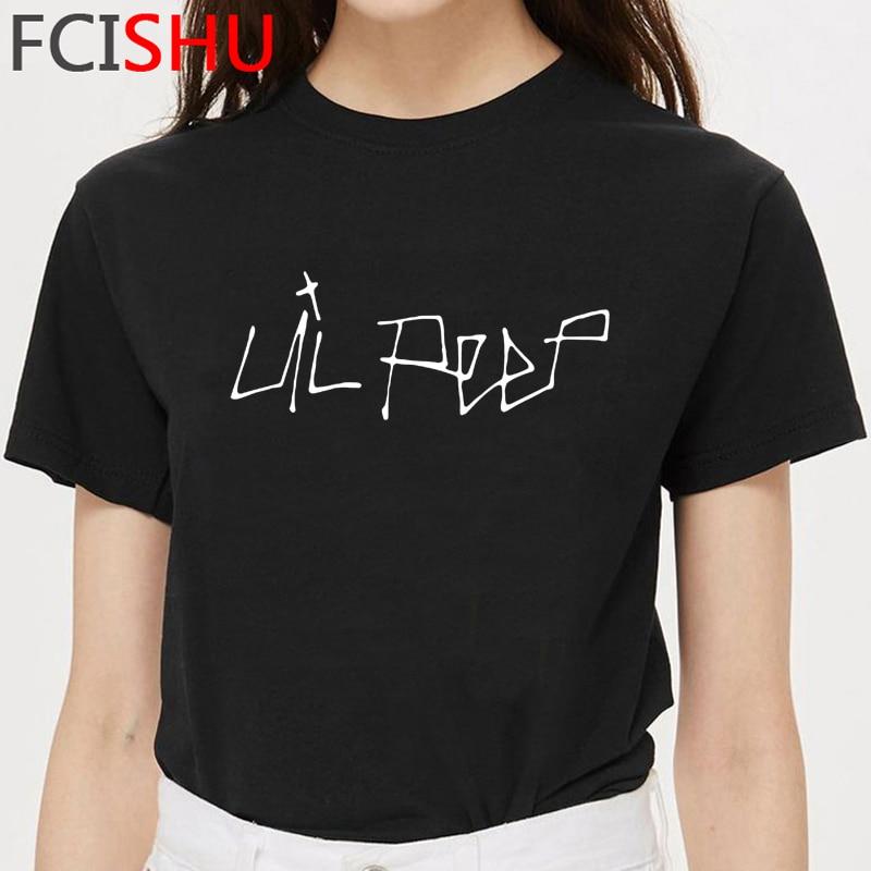 Camiseta gráfica Hip Hop Lil Peep Unisex para hombre, camiseta divertida con dibujos animados para bebé, Lil. Camiseta de rapero Peep Streetwear camiseta de verano para hombre