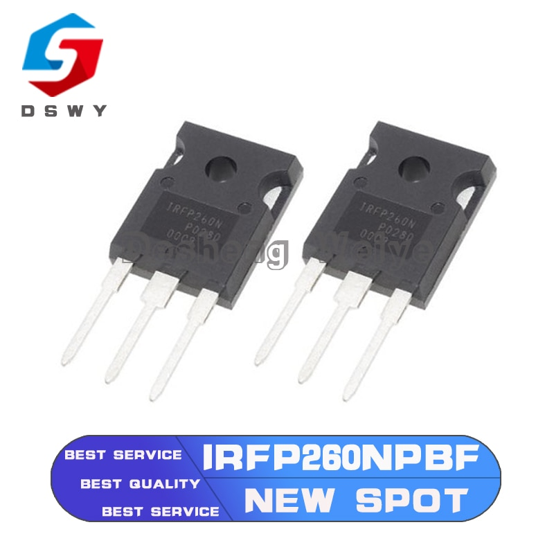 Фото - 5PCS IRFP260NPBF TO-247 IRFP260N TO247 IRFP260 TO-3P New MOS FET Transistor mbr40200pt to 247