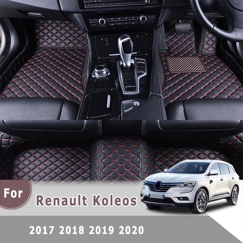 Alfombras RHD para Renault Koleos 2017 2018 2019 2020, alfombrillas para coche, accesorios de Interior de coche, piezas de estilismo, alfombras para salpicadero