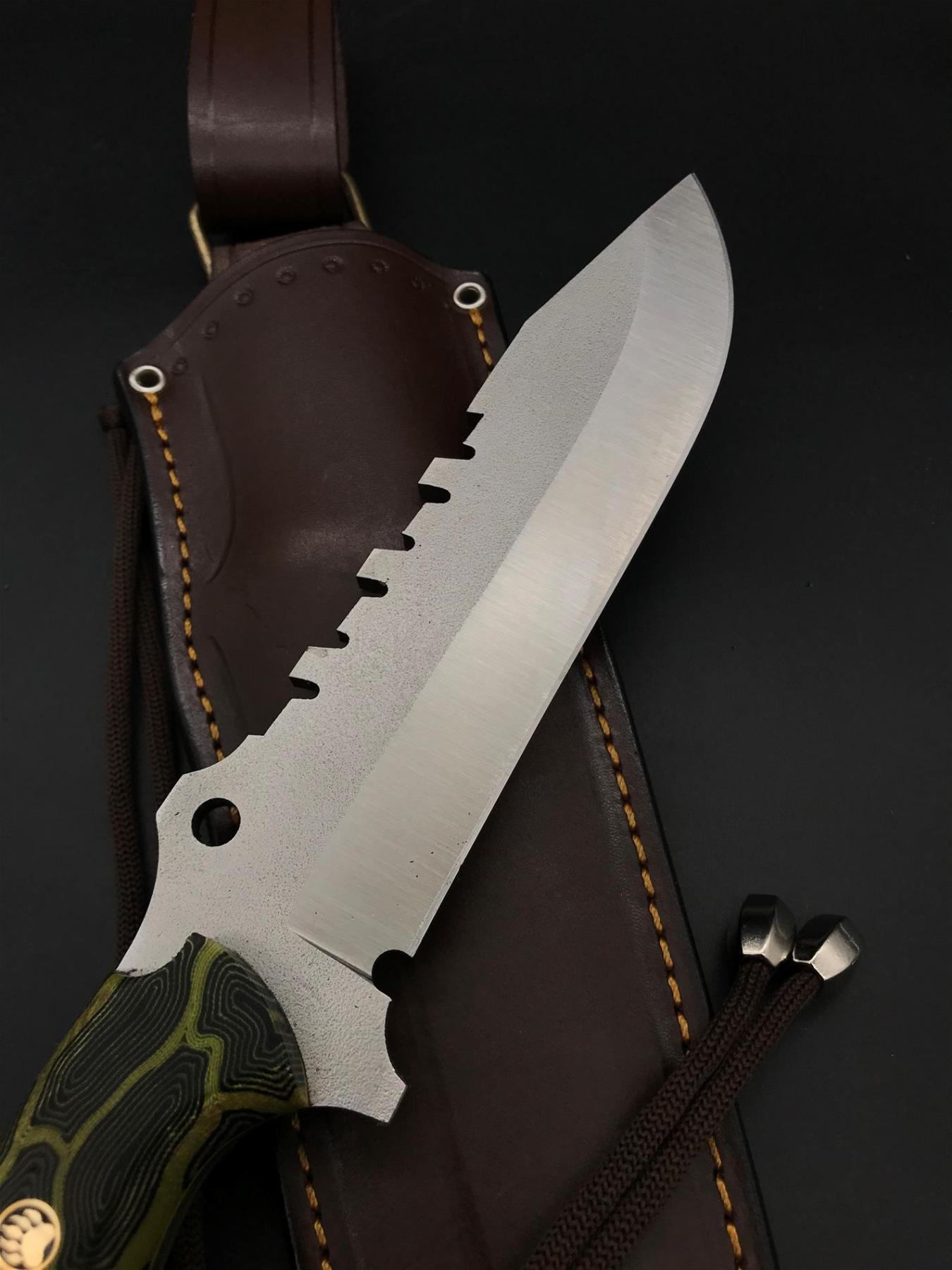 BOHLER N690 Special Design Camping Knife TK14 enlarge