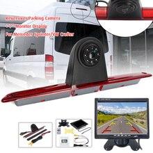 Автомобильная камера заднего вида CCD, ИК светодиодный стоп сигнал, парковочный светильник, ночное видение, для Mercedes benz Sprinter VW Crafter