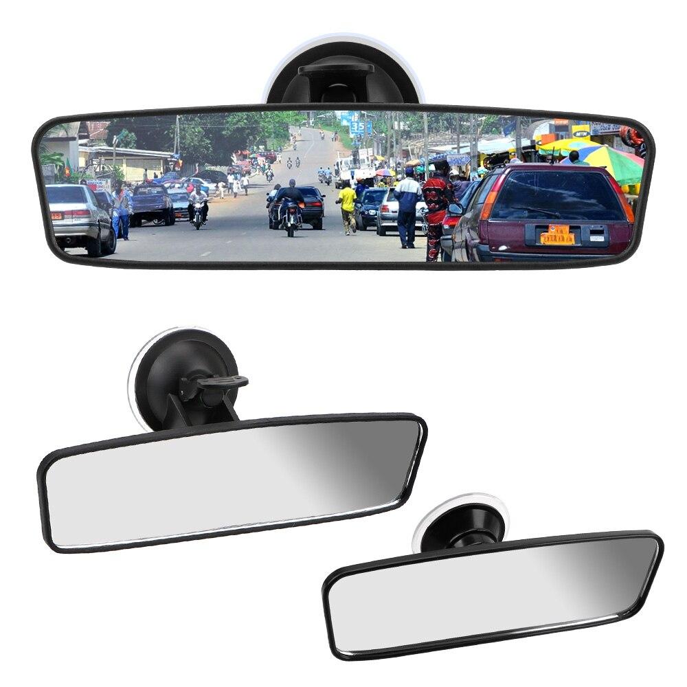 Универсальное зеркало заднего вида, Автомобильное зеркало заднего вида с вращением на 360 °, регулируемая присоска, широкоугольное зеркало з...