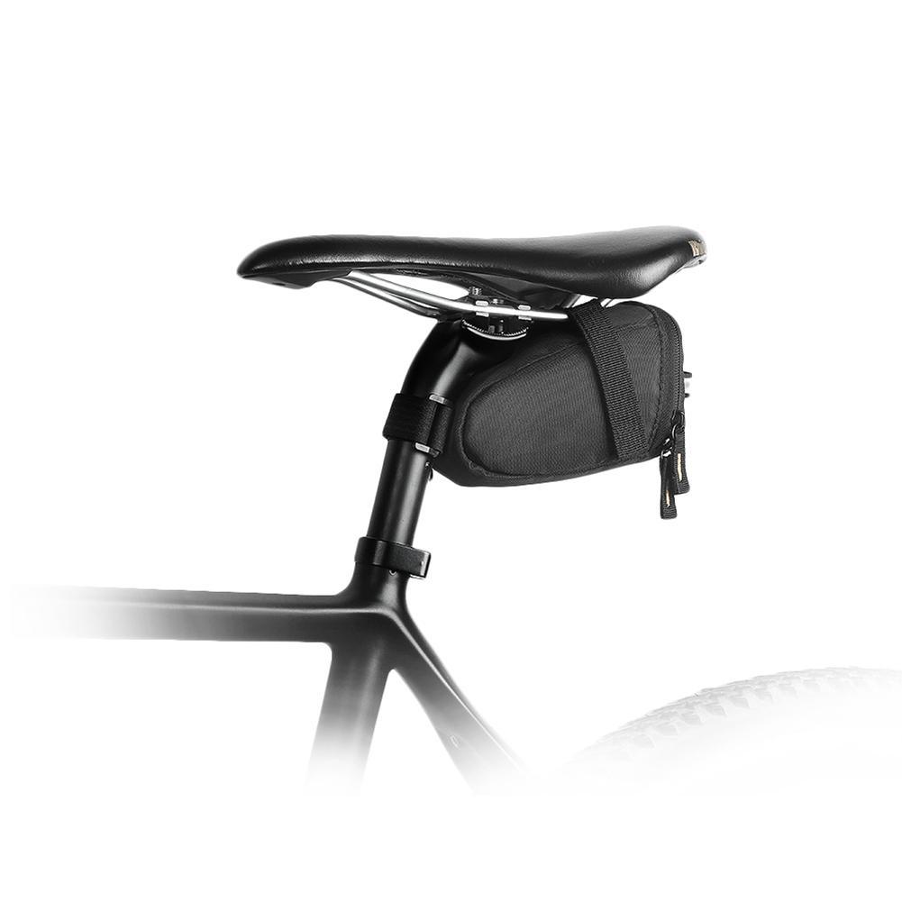 Bolsa de bicicleta ultraligera, bolsa de almacenamiento impermeable para bicicleta, Correa ciclista, bolsa de asiento trasero, bicicleta de carretera, alforja de tubo interior