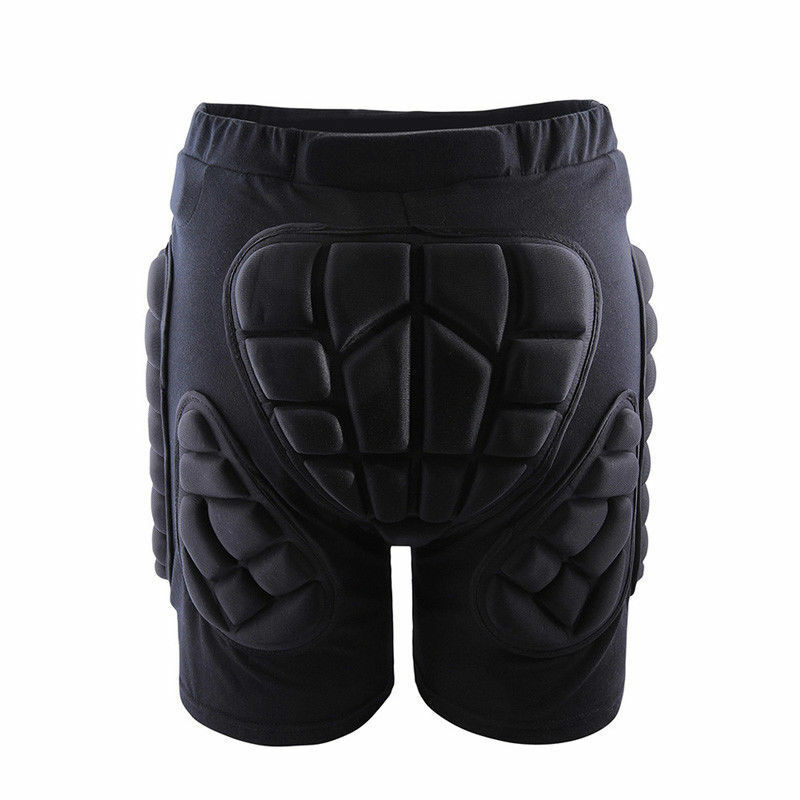 Pantalones cortos acolchados para adultos, patinaje sobre ruedas, Hip/Bum Saver