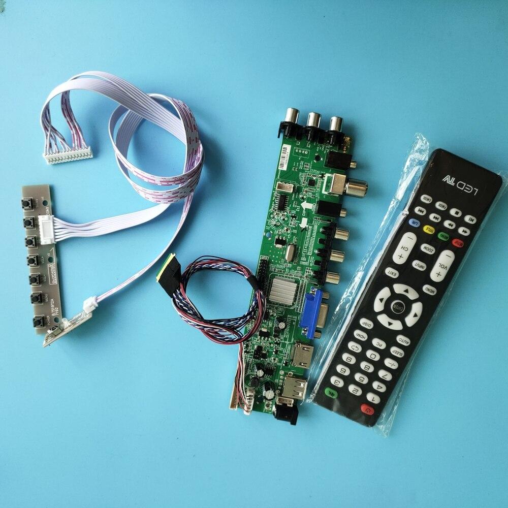 عدة ل N101BGE-L31/N101BGE-L21 إشارة تحكم مجلس HDMI AV dvb-t DVB-T2 1366X768 LED USB VGA TV 40pin الرقمية 10.1
