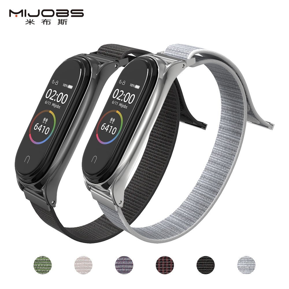 Banda de relógio de pulso para xiao mi mi banda 4 pulseira mi 3 substituição pulseira de relógio inteligente pulseira para xiao mi mi banda 3 acessórios