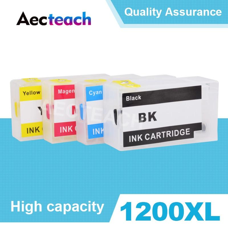 Aecteach PGI 1200 Printer Ink cartridge for Canon MAXIFY MB2020 MB2120 MB2320 MB2720 Printer
