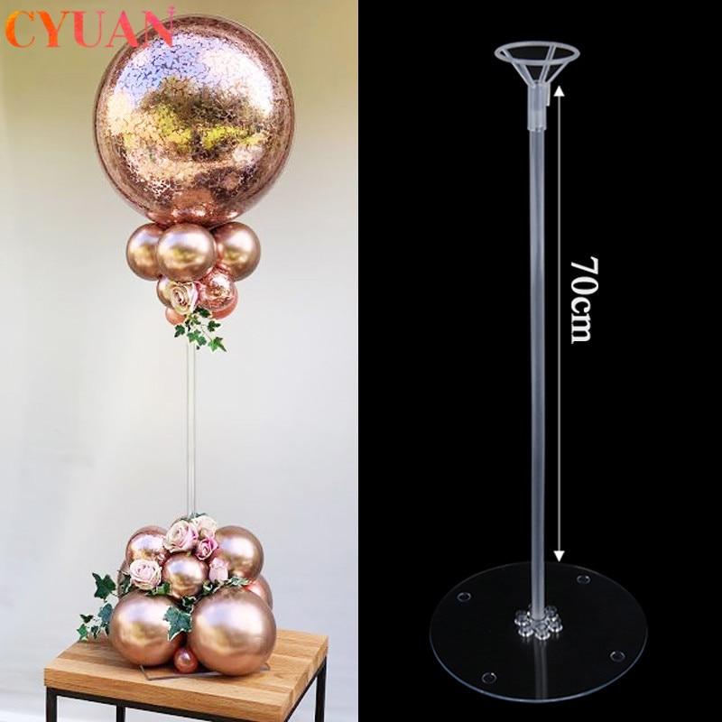 Birthday Party Decor Balloons Stand Wedding Table Balloon Holder Column Baloon Stick Globos Home Decoration Accessories