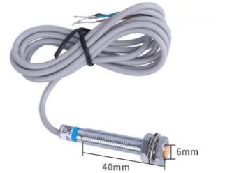 5 uds M8 Sensor de interruptor inductivo 3 cables CC PNP NO 1mm distancia de detección LJ8A3-1-Z/BX AX BY AY