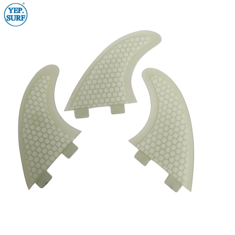Surfing Double Tabs Fins S Size Honeycomb Fibreglass Fin White color Surf Quilhas Double Tabs S Surf Fins free shipping surfboard fins high quality honeycomb future fins in surfing quilhas fins