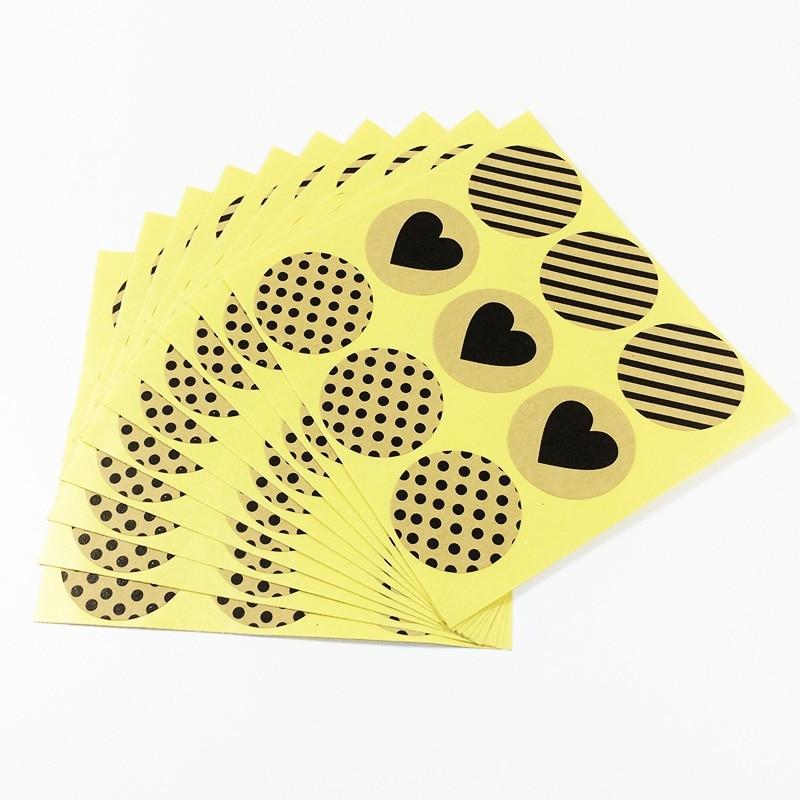 pegatinas-de-papel-kraft-redondas-para-productos-hechos-a-mano-etiqueta-adhesiva-de-sello-de-regalo-serie-de-sarga-de-puntos-de-corazon-vintage-90-unids-lote