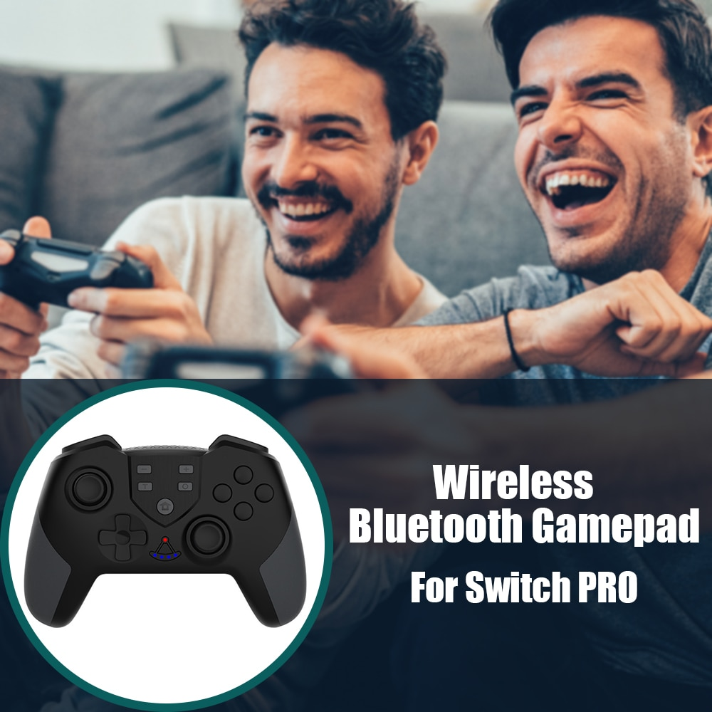 Wireless Game Controller Bluetooth Gaming Joypad with NFC Macro Programming Vibration Gamepad Joystick for Switch PRO enlarge