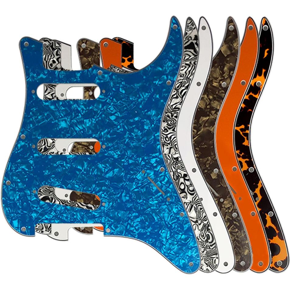 Golpeador de guitarra con 11 orificios de tornillo, para guardabarros de EE....