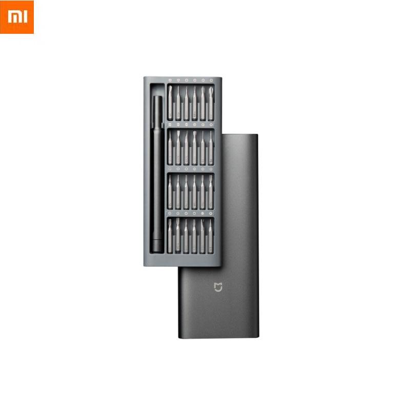 Xiaomi Mi Daily Use Screwdrive Kit Refined And Minimalist 24 Precision Magnetic Bits Alluminum Box Screw Driver For Smart Home