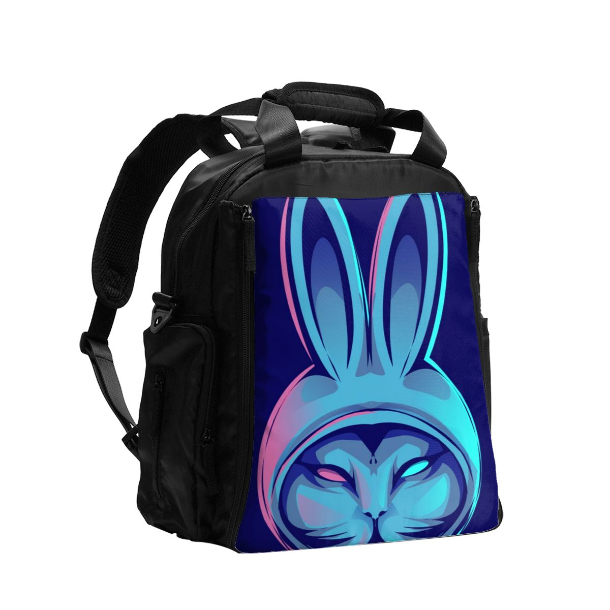 Bolsa de pañales para bebés Cool Rabbits bolsa de maternidad para pañales desechables reutilizables en seco bolsa de pañales con doble ASA