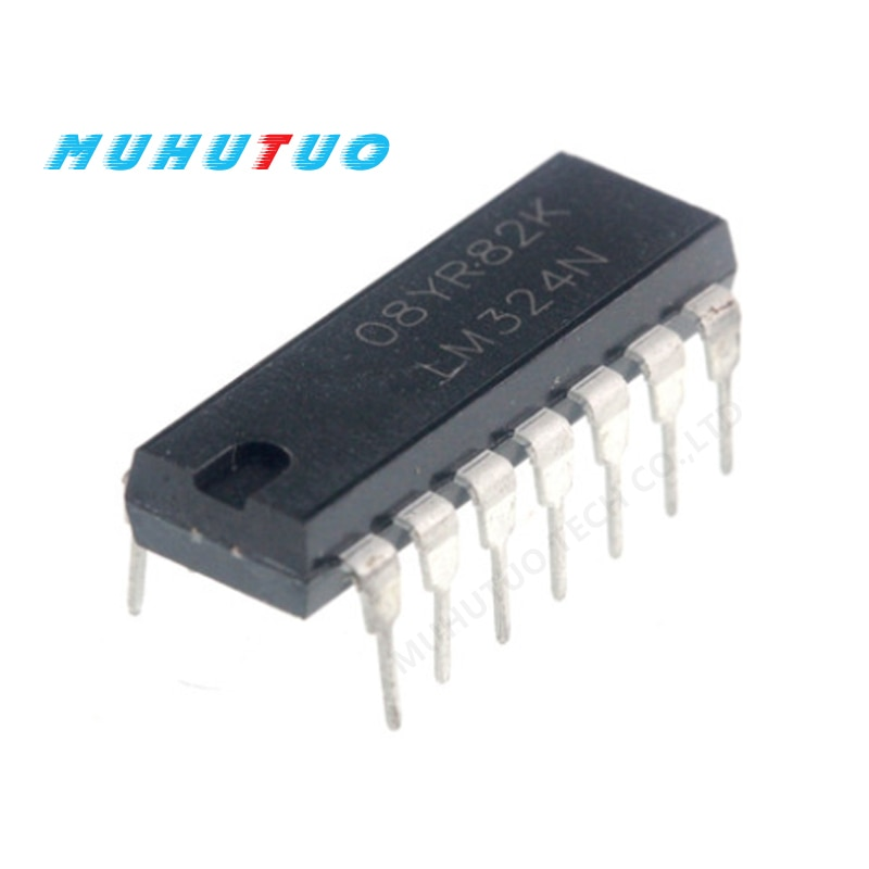 10pcs lm324n dip 14 324n dip lm324 dip 14 324 new 10PCS LM324N DIP14 LM324 DIP DIP-14 IC