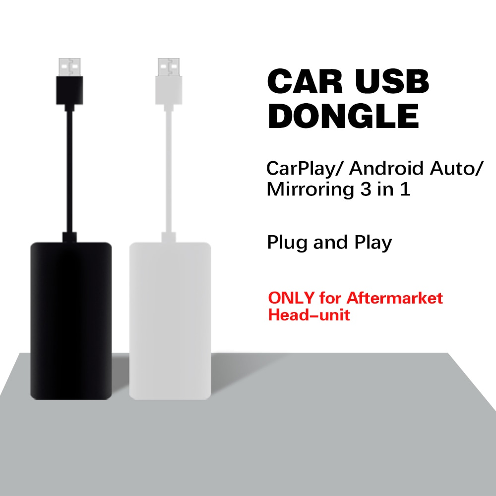 New OT-06 CarPlay / Android Auto / Mirroring 3 in 1 USB Dongle for Aftermarket Android / Navigation Stereo
