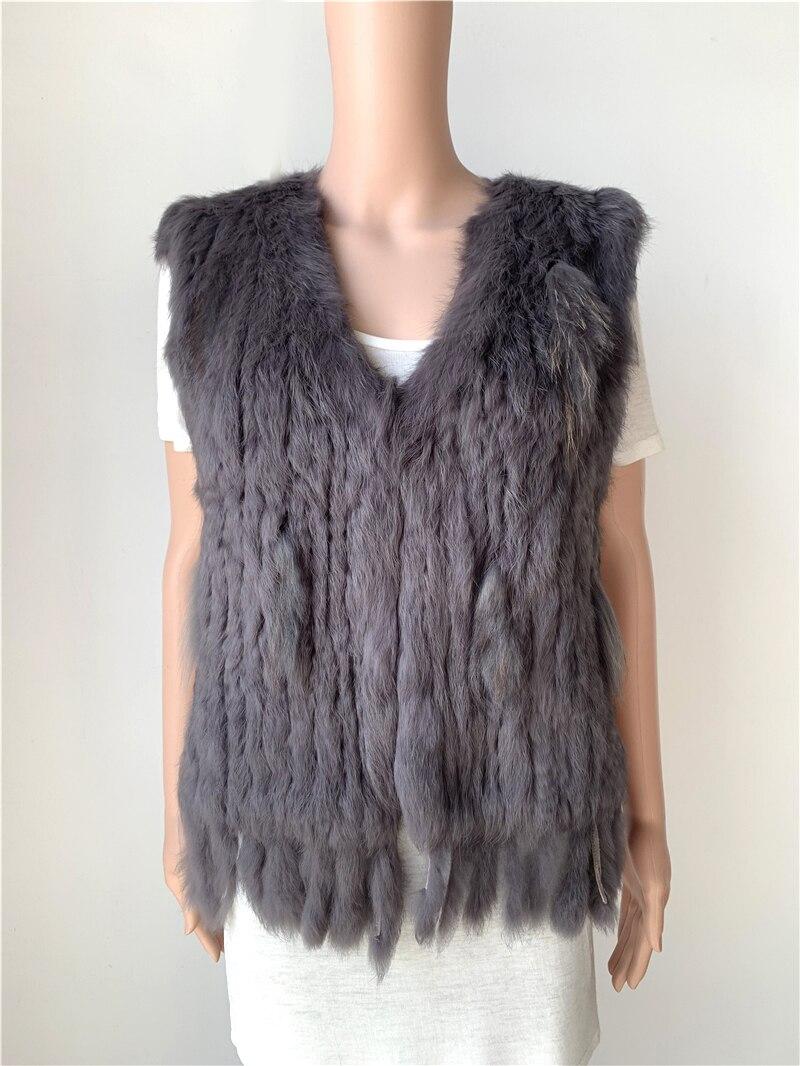 sales clearance real rabbit fur vest jacket coat