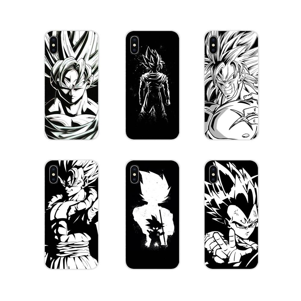 Para Oneplus 3T 5T 6T Nokia 2 3 5 6 8 9 230, 3310, 2,1, 3,1, 5,1, 7 Plus 2017 2018 suave transparente de la cubierta de la piel de la bola del dragón del blanco y negro