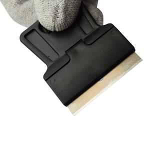 Image 3 - Мини Ручной скребок для бритвы с лезвиями из углеродистой стали, 5 шт., старая пленка, стекло, нож для удаления клея, мобильный телефон средство очистки для экрана планшета 5E18
