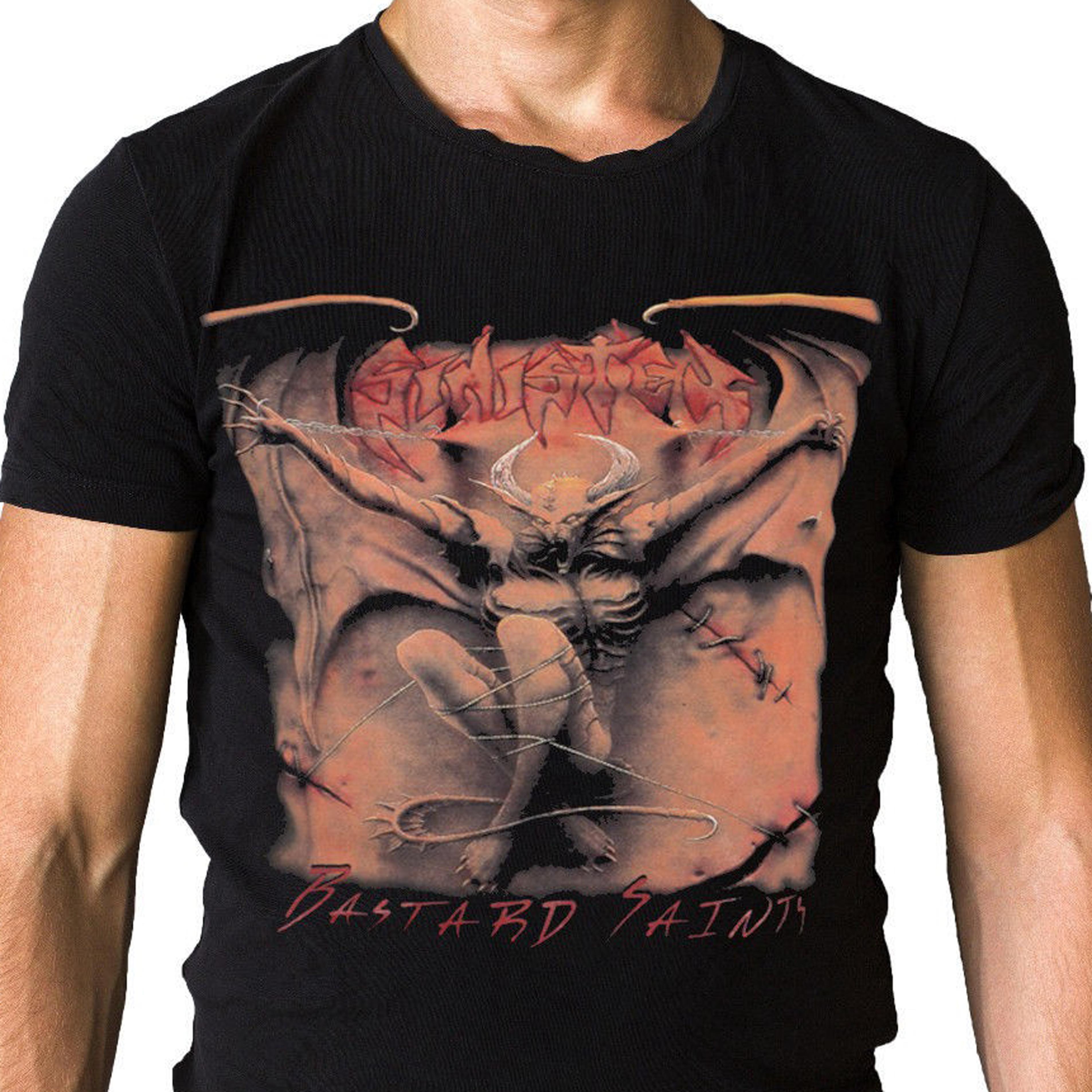 Camiseta de la cubierta del álbum del 1996 de los santos del sinfín