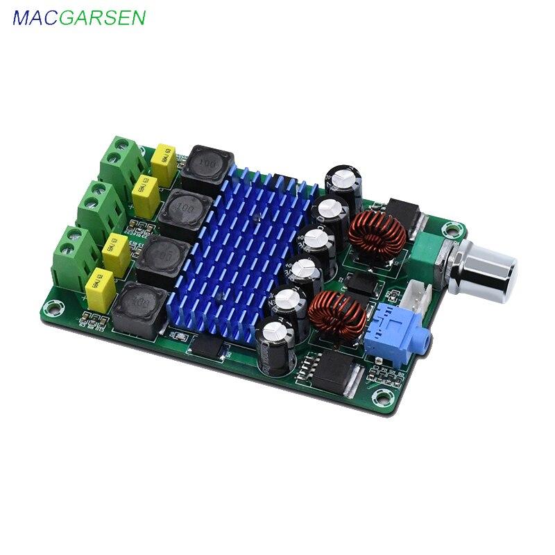 TPA3116D2 Sound Amplifier 50W * 2 Digital Power Amplifiers Board Class D Audio HiFi Stereo Power Amplifier Home Theater DC12V