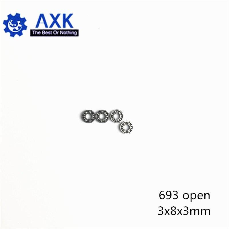 693 OPEN Bearing 3*8*3 mm ( 10 PCS ) ABEC-5 Miniature High Precision Level instrument 693 OPEN Ball Bearings