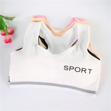 Girls Bras for Children Wirefree Lingerie for Kids Sport Wrapped Chest Student Bra Cute Kids Bras Ch